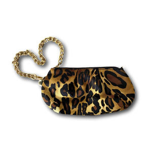 Chicos Leopard Bag Wristlet Clutch